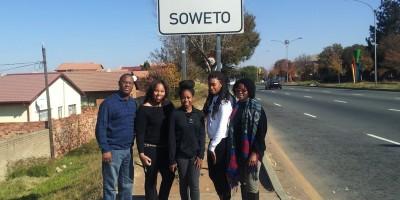 In Soweto w/ FAMU students