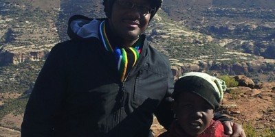 In Lesotho Mountains
