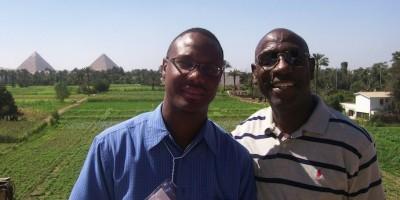 W/ Dr. Na'im Akbar in Egypt