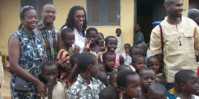In Ghana village