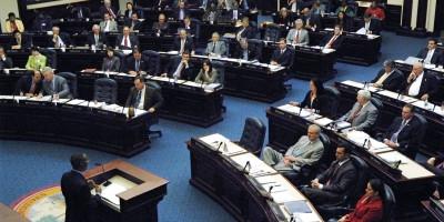 Florida Legislators listen attentively